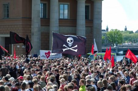 Piratų demonstracija